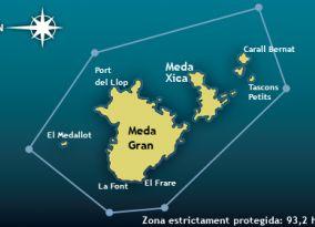 Zona estrictament protegida: 93,2 ha.